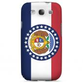 Missouri - Geeks Designer Line Flag Series Matte Back Case for Samsung Galaxy S3
