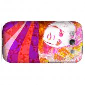 Glossy Flowerchild GDL Ultra Matte Hard Case for Samsung Galaxy S3 Geeks Designer Line