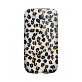 Albino Leopard Print Animal Series GDL Ultra Matte Hard Case for Samsung Galaxy S3 Geeks Designer Line