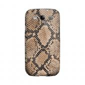 Rattlesnake Skin Animal Series GDL Ultra Matte Hard Case for Samsung Galaxy S3 Geeks Designer Line