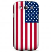United States Geeks Designer Line Flag Series Matte Hard Case for Samsung Galaxy S3