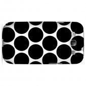 Big & Black Geeks Designer Line Polka Dot Series Slim Hard Case for Samsung Galaxy S3