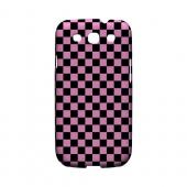 Pink/ Black - Geeks Designer Line Checker Series Matte Case for Samsung Galaxy S3