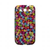 Multi-Colored Flowers - Geeks Designer Line Floral Series Matte Case for Samsung Galaxy S3