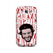 Che Guevara Happy Revolutionary on Red - Geeks Designer Line Revolutionary Series Matte Case for Samsung Galaxy S3