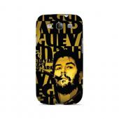 Che Guevara Smoke Gold - Geeks Designer Line Revolutionary Series Matte Case for Samsung Galaxy S3