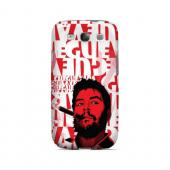 Che Guevara Smoke Red - Geeks Designer Line Revolutionary Series Matte Case for Samsung Galaxy S3