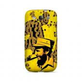 Yellow Fidelity - Geeks Designer Line Revolutionary Series Matte Case for Samsung Galaxy S3