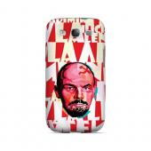 Lenin Complex on Red - Geeks Designer Line Revolutionary Series Matte Case for Samsung Galaxy S3