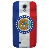 Grunge Missouri - Geeks Designer Line Flag Series Hard Case for Samsung Galaxy S4