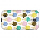 Assorted Ice Cream Cones - Geeks Designer Line Candy Series Hard Back Case for Samsung Galaxy S4