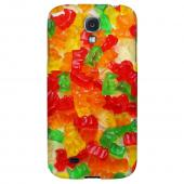 Multi-Colored Gummy Bears - Geeks Designer Line Candy Series Hard Back Case for Samsung Galaxy S4