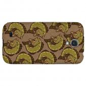 Large Mouth Bass Design - Geeks Designer Line Fish Series Hard Back Case for Samsung Galaxy S4