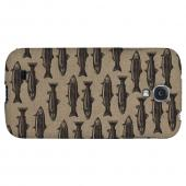 Vintage Salmon & Trout Print - Geeks Designer Line Fish Series Hard Back Case for Samsung Galaxy S4
