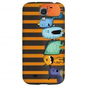 ZORGBLATS Line Up - Geeks Designer Line Monster Mash Series Hard Back Case for Samsung Galaxy S4