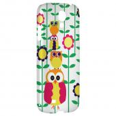 Colorful Owl Tower - Geeks Designer Line Owl Series Hard Back Case for Samsung Galaxy S4