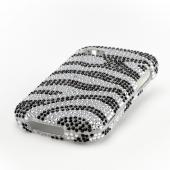 Black/ Silver Bling Hard Case for Blackberry Q10
