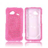 HTC Droid Incredible 4G LTE Bling Hard Case - Pink Gems