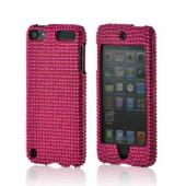 Hot Pink Gems Bling Hard Case for Apple iPod Touch 5