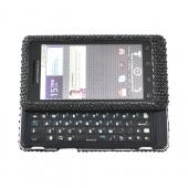 Luxmo Motorola Droid 2 Bling Hard Case - Black
