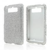 Silver Bling Hard Case for Motorola Droid Mini