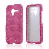 Hot Pink Bling Hard Case for Motorola Moto X