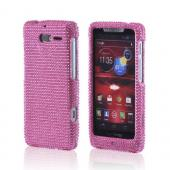Pink Bling Hard Case for Motorola Droid RAZR M