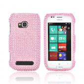 Nokia Lumia 710 Bling Hard Case - Baby Pink