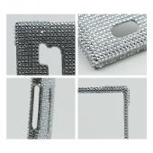 Silver Bling Hard Case for Nokia Lumia 928