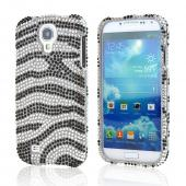 Black/ Silver Bling Hard Case for Samsung Galaxy S4