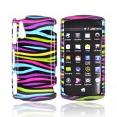 Sony Ericsson Xperia PLAY - Rainbow Zebra on Black