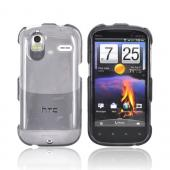 HTC Amaze 4G Hard Case - Transparent Smoke