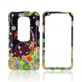 HTC EVO 3D Hard Case - Flower Art