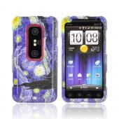 HTC EVO 3D Hard Case - Van Gogh's Starry Night