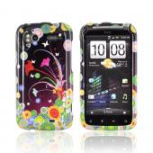 HTC Sensation 4G Hard Case - Flower Art