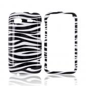 HTC Sensation 4G Hard Case - Black/ White Zebra