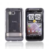 HTC Thunderbolt Hard Case - Transparent Smoke