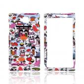 Huawei Ideos X6 Hard Case - Kawaii Baby Skulls on White