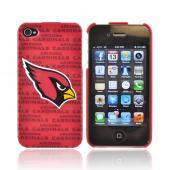 NFL Licensed Apple iPhone 4/4S Hard Case - Arizona Cardinals