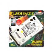 Original Flashbacks AT&T/ Verizon Apple iPhone 4, iPhone 4S Hard Case - Gray/ White Hard Drive