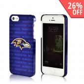 Baltimore Ravens Hard Case for iPhone 5/5S - NFL Licensed