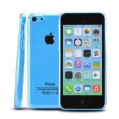 Clear Hard Back Cover Case for Apple iPhone 5C