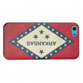 Geeks Designer Line (GDL) Apple iPhone 5C Matte Hard Back Cover - Grunge Arkansas