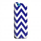 Geeks Designer Line (GDL) Apple iPhone 5C Matte Hard Back Cover - Navy Blue on White