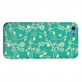 Geeks Designer Line (GDL) Apple iPhone 5C Matte Hard Back Cover - Floral 2 Emerald