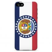 Missouri - Geeks Designer Line Flag Series Hard Back Case for Apple iPhone 5/5S