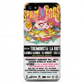 TokiMonsta's Birthday Special 2.0 SPAM N EGGS Hard Case for Apple iPhone 5