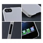 Premium High Impact Resistant Apple iPhone 5/5S Ultra Slim Hard Case - Glossy White