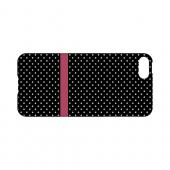 Pink Horizontal Stripe Geeks Designer Line Polka Dot Series Slim Hard Case for Apple iPhone 5