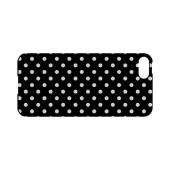 White Dots on Black Geeks Designer Line Polka Dot Series Slim Hard Case for Apple iPhone 5/5S